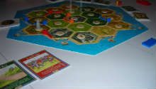 'The Settlers of Catan is one of the more popular games young adults are catching on to play.' [©Melissa Novacaska]