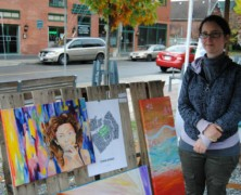 Pop-up galleries help artists 'do it yourself'