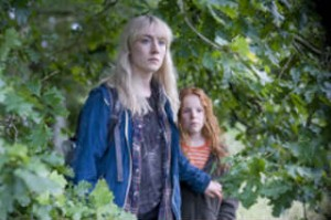 "Girls stick together: Saoirse Ronan (Daisy) and Harley Bird (Piper) must stik together to survive Wolrd War Three in ""How I Live Now"". [Photo courtesy: Magnolia Pictures]"