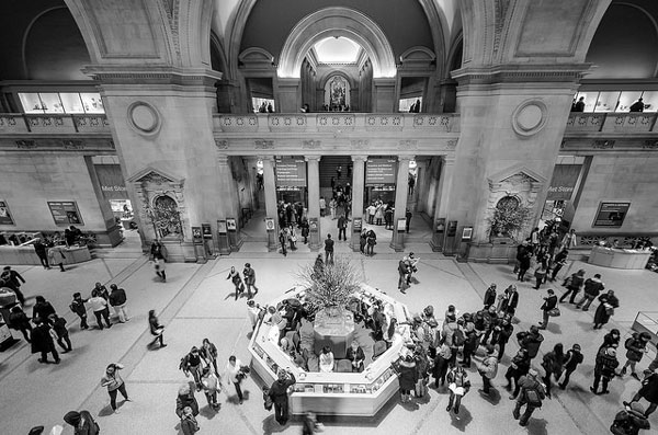 One of the world's leading art galleries, The Metropolitan Museum of Art needs little help from the Google Art Project to attract viewers to the gallery and its website. [Photo Copyright: Maciek Lulko]