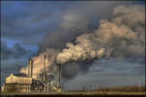 Air Pollution outside of Edmonton's Sherwood Park neighbourhood (Credit: Wolfgang Schlegl via flickr)