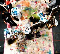 Last brush standing: the rise of competitive live art