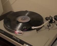 Vinyl records still spinning